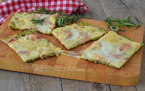Schiacciata di zucchine ricetta facile e veloce | La Cucina Italiana - De Italiaanse Keuken - The Italian Kitchen | Scoop.it