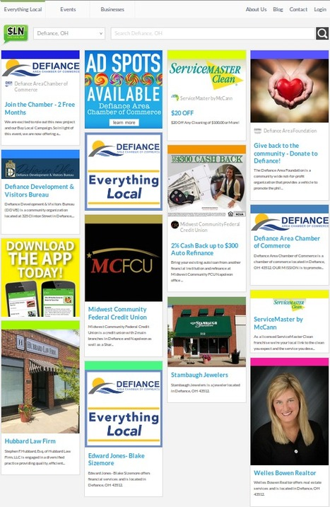 Get Exciting Deals and Offers on Local Services available in Defiance, OH on SAVE LOCAL NOW | Catch the Best Deals, Offers & Current Events Online in your city | Scoop.it