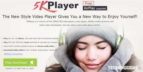 5KPlayer - Play Any Video Audio DVD Directly With All-in-one Free Media Player - Tech Diggers | Technology News and Reviews | Scoop.it
