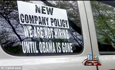 "Surprise! Georgia Businessman Who Hung ""Not Hiring Until Obama Is Gone"" Sign Reported To The FBI As A Threat To National Security 