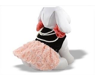 Voronic Rosebud and Pearl Dress | Dog Fashion | Scoop.it