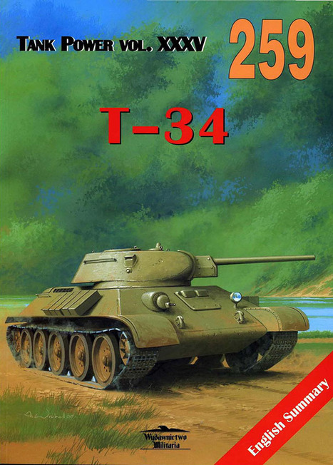 Tank T-34 – Wydawnictwo 259   History Around the Net   Scoop.it