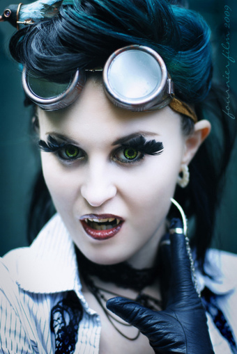 Steampunk Pin-up Girl | Vulbus Incognita Magazine | Scoop.it