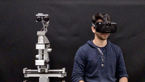 Oculus Rift and robotic heads: A match made in geek heaven | Zero Moment | Cultibotics | Scoop.it