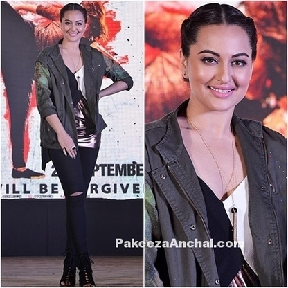 Sonakshi Sinha dressed in Zara Outfit for Akira Movie | Indian Fashion Updates | Scoop.it