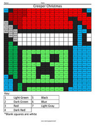 Creeper Christmas- Holiday Division | Coloring Squared | Scoop.it