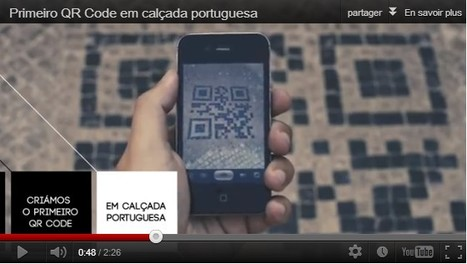 Lisbonne insère des QR codes dans ses pavés | QR-Code and its applications | Scoop.it
