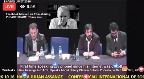 BREAKING LIVE: Juliane Assange Is Speaking To World Now | IELTS, ESP, EAP and CALL | Scoop.it