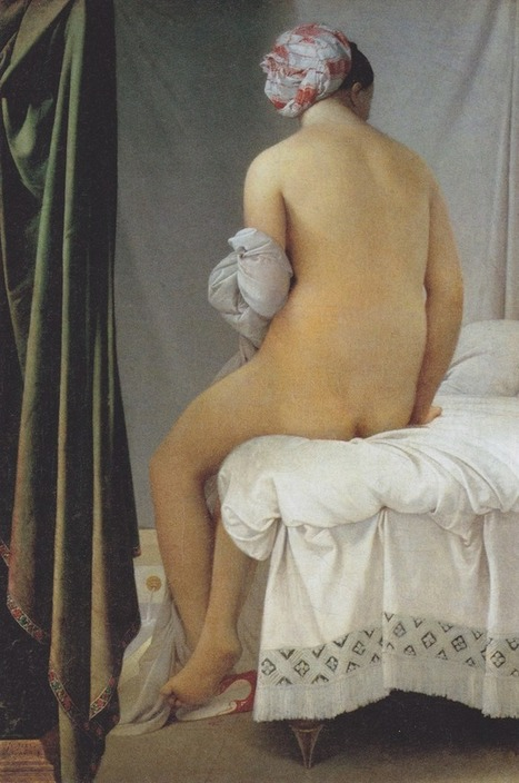 peril:The Valpinçon Bather (1806), Oil on canvas, Louvre,... | Affinities | Scoop.it