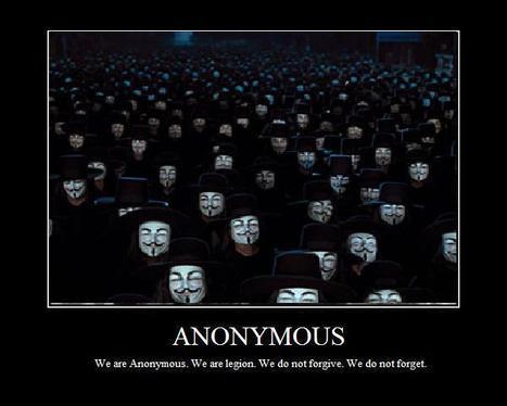 Anonymous: vox populi contre l'Otan? | Mon moleskine | Scoop.it