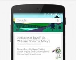 Google Now Presents New Opportunity for Retailers | L2's The Daily | Mobile internet trends | Scoop.it