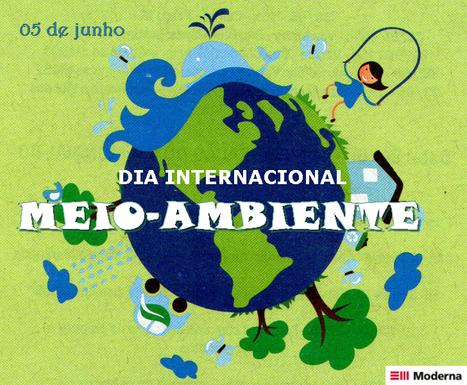 05 de junho: Dia Mundial do Meio Ambiente   Meio ambiente   Scoop.it