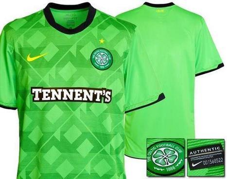 New Celtic FC Away Strip Jersey | CELTIC TEAM JERSEY | Scoop.it