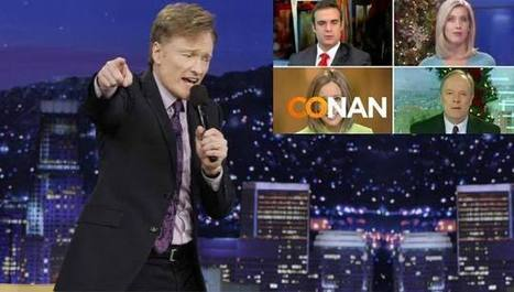 Conan Shows Us That Main Stream Media Is Scripted | Intelligence | Scoop.it
