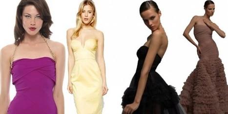 Catturiamo il trend con l'abito bustier   Moda Donna - sfilate.it   Scoop.it