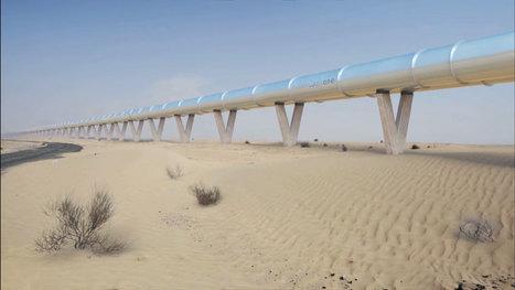[Ambitieux, très ambitieux] Vers un réseau sous-marin d'Hyperloop ? | NUMÉRIQUE Nouvelles | Scoop.it
