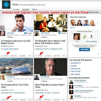 How To Use LinkedIn Pulse To Drive Traffic And Subscribers   Business in a Social Media World   Scoop.it