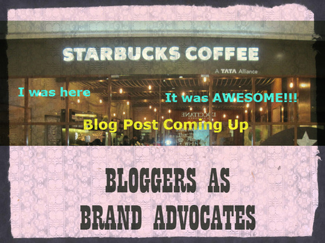 How to Choose Bloggers as Brand Advocates | Small Business | Scoop.it