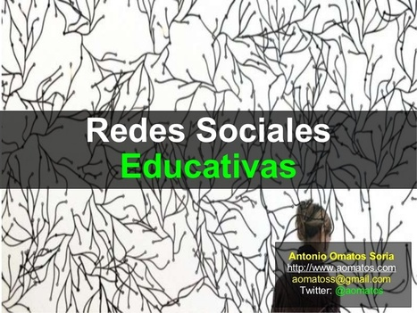 Redes Sociales Educativas | Educacion, ecologia... | Mi clase en red | Scoop.it