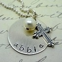 Personalized Hand Stamped Jewelry, Necklaces, Charms For Girls Kids | Our Jewelry | Scoop.it
