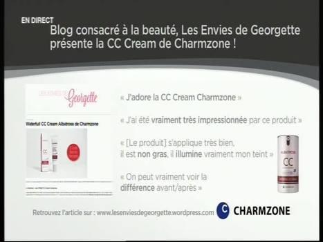 Les Envies de Georgette présente la CC CHARMZONE sur M6 Boutique | Revue de Presse Les Envies de Georgette | Scoop.it