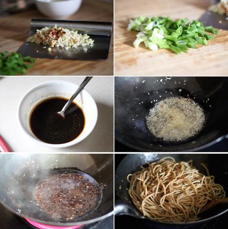 Spicy Garlic Noodles | À Catanada na Cozinha Magazine | Scoop.it