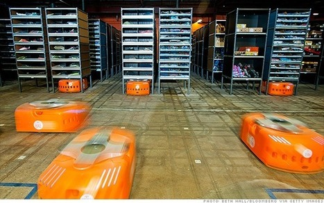 Army of robots to invade Amazon warehouses | Inside Amazon | Scoop.it