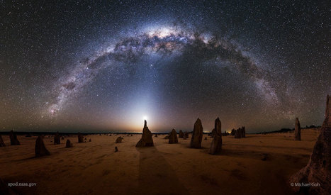 2016 February 17 - Milky Way over the Pinnacles in Australia | The Blog's Revue by OlivierSC | Scoop.it