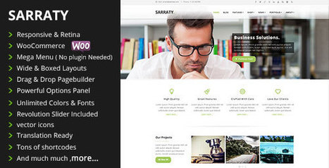 Download Sarraty v1.7 - Retina Responsive Multi-Purpose Theme - Slicontrol.Net | Free Download Premium Wordpress Themes and Plugin | Scoop.it