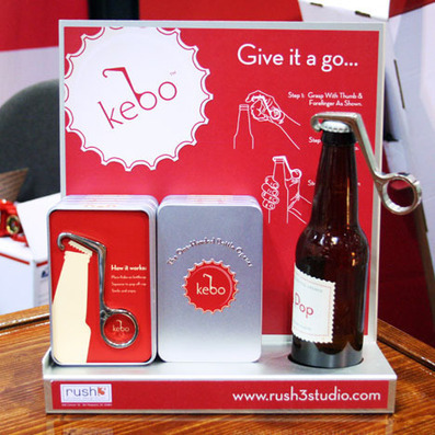 "International Home + Housewares Show 2012: ""Kebo"" One-Handed Bottle Opener - Core77   #Design   Scoop.it"