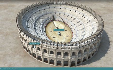 Les arènes de Nîmes reconstituées en 3D dans un webdoc en histoire. Dès le cycle3 | Educnum | Scoop.it