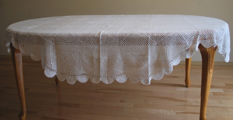 Lace table cloth | QualityLace | Scoop.it