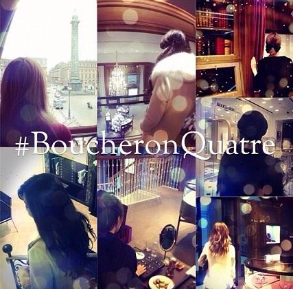 Boucheron réinterpreté par les blogueuses | Inspiring Art Management | Scoop.it