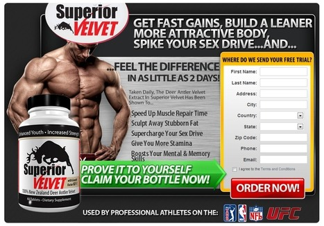 Superior Velvet With Growth factor IGF-1 Review – Gain Muscles and Feel Energetic! | Build stronger and curvy muscle with us | Scoop.it