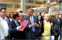LYon-Actualités.fr: Ségolène Royal et Jean-Jack Queyranne se rallient à François Hollande | LYFtv - Lyon | Scoop.it