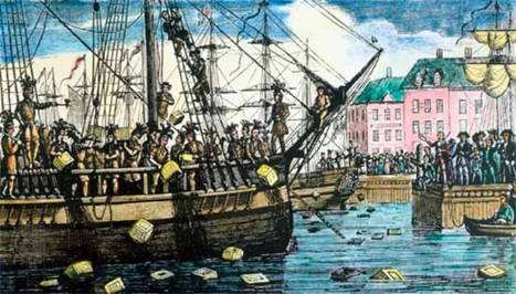The Boston Tea Party | The American Revolution | Scoop.it