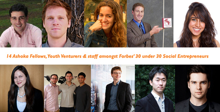 INSPIRATIONAL YOUTH: 30 under 30 - social entrepreneurs, Forbes | GOP & AUSTERITY SUPPORTERS  VS THE PROGRESSION Of The REST OF US | Scoop.it