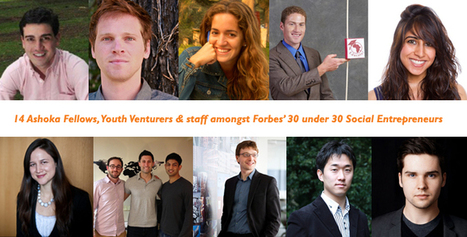 INSPIRATIONAL YOUTH: 30 under 30 - social entrepreneurs, Forbes | Changemaking | Scoop.it