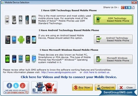 Bulk SMS Software: Send text messages from PC using mobile device | How to connect Android Mobile Phone to your Laptop for sending free SMS | Scoop.it