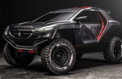 Peugeot Unveil Their Monster Rally Car That Will Take On The Dakar | My Dream Garage | Scoop.it