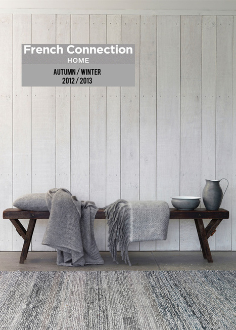 Happy Interior Blog: Sneak Preview: French Connection Home | Interior Design & Decoration | Scoop.it