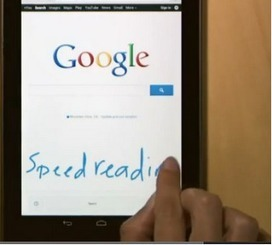 Google New Mobile Service - Handwrite | iGeneration - 21st Century Education | Scoop.it
