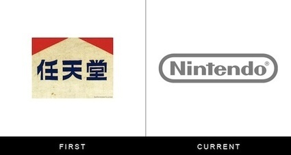 Logos Of Famous Brands, Then And Now - DesignTAXI.com | Brand Marketing & Branding | Scoop.it