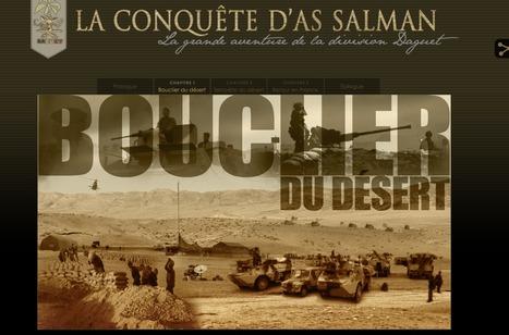 La conquête d'As Salman, La grande aventure de la division Daguet | Interactive & Immersive Journalism | Scoop.it