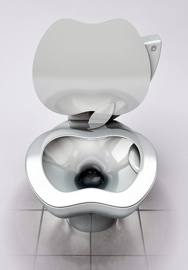 iPoo : Apple Toilet | All Geeks | Scoop.it