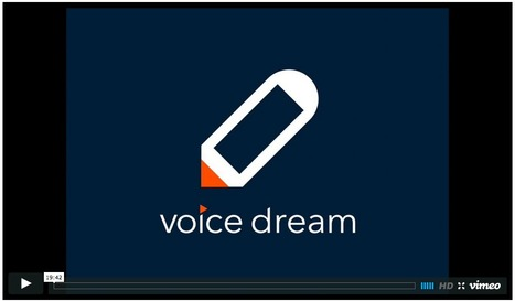 Voice Dream Writer App - It's a Wow! | Leveling the playing field with apps | Scoop.it