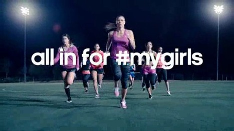 "Nouvelle campagne de communication d'Adidas : ""All in for #MyGirls"" 