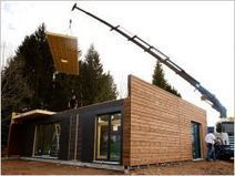 Une maison en bois montée en… un jour ! | Solutions alternatives pour un monde en transition | Scoop.it