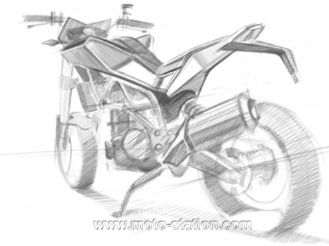 News moto 2012 : Pemières images du roadster Husqvarna 900 - Moto Station | Actu moto | Scoop.it