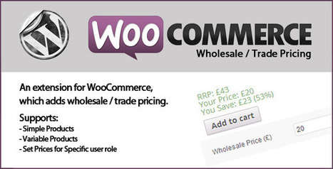 WooCommerce Wholesale Prices[P] | Download Free Full Scripts | strong | Scoop.it